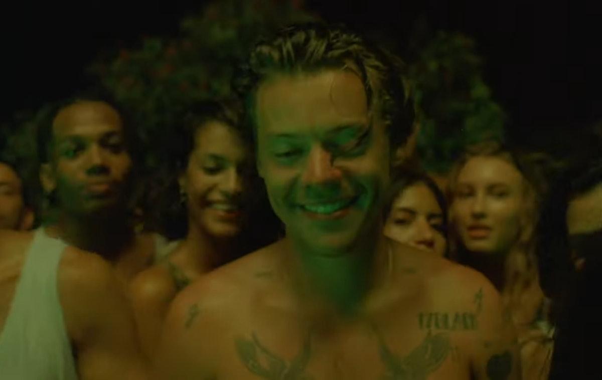 "Harry Styles ""Lights Up"" Music Video"