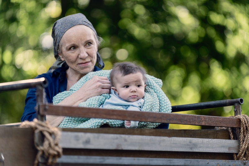Tammy Rose and the Whisperer baby Adam on The Walking Dead