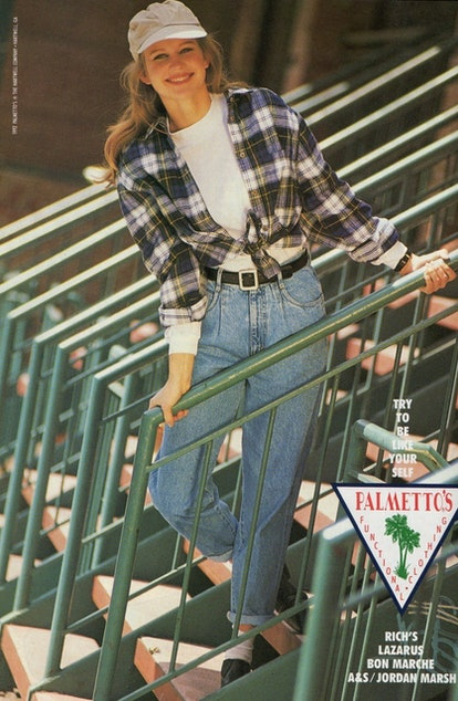 Pleated Jeans Throback Trend