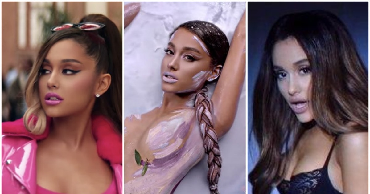Ariana Grande's Music Video Evolution Goes From Sweet To Sweetener