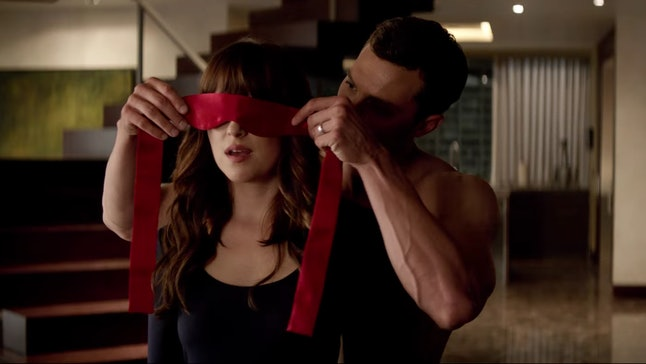 Christian takes Ana to the red room in 'Fifty Shades Freed'