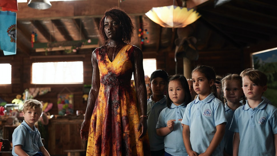 Lupita Nyong'o in the Zombie comedy Little Monsters