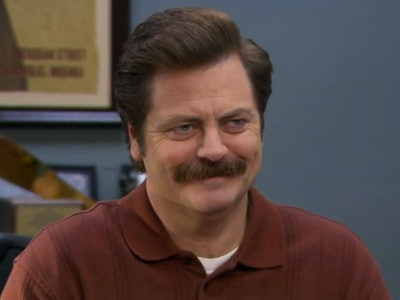 Ron Swanson is a popular Halloween costume for all ages
