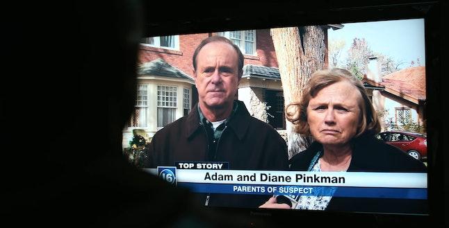 Michael Bofshever as Adam Pinkman and Tess Harper as Diane Pinkman in 'El Camino: A Breaking Bad Movie'