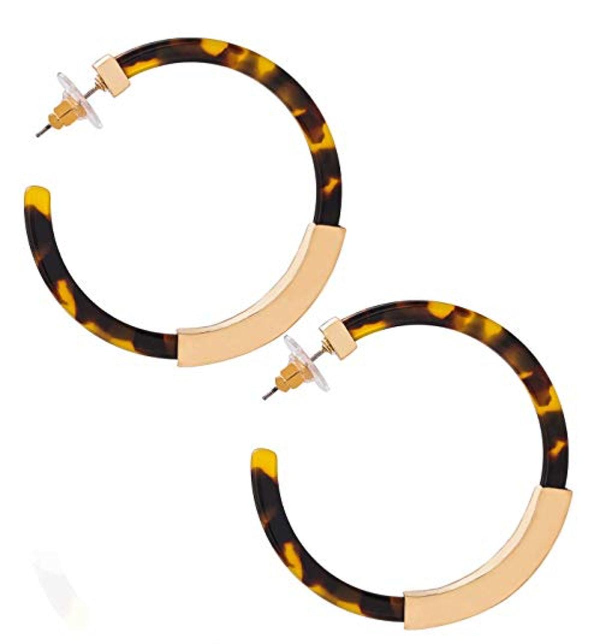 Moloch Acrylic Hoop Earrings