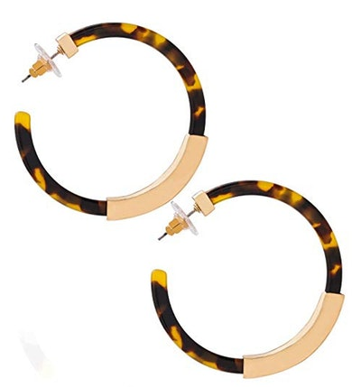 Moloch Acrylic Hoop Earrings