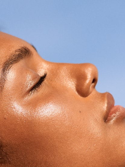 Glossier's Futuredew is skin care that gives an all day glow.