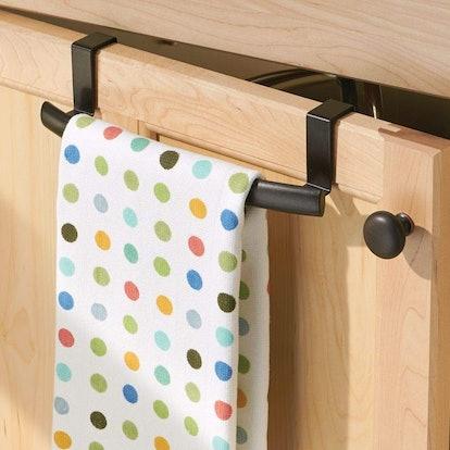mDesign Cabinet Towel Bar (2-Pack)