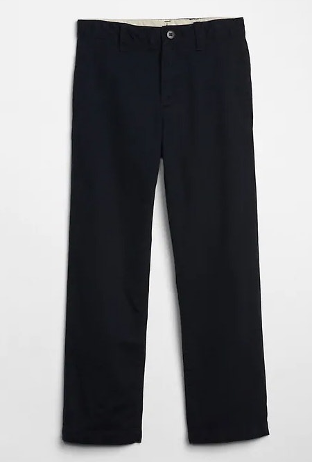 Kids Relaxed Khakis in Stretch