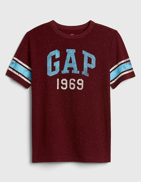 Kids Gap Logo Football T-Shirt