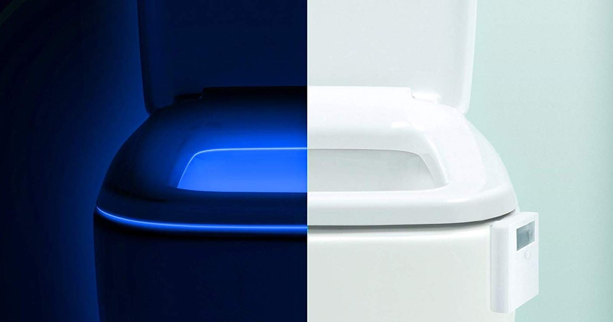 A Light For Your Toilet, A Stool For Your Stool, & 38 Other Weirdly Useful Amazon Products