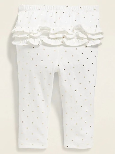 Old Navy Printed Ruffle-Trim Leggings for Baby