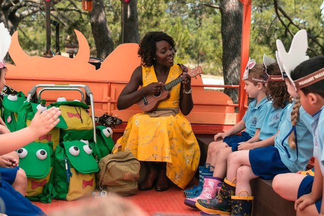 Lupita Nyong'o Stars in the new zombie comedy 'Little Monsters'