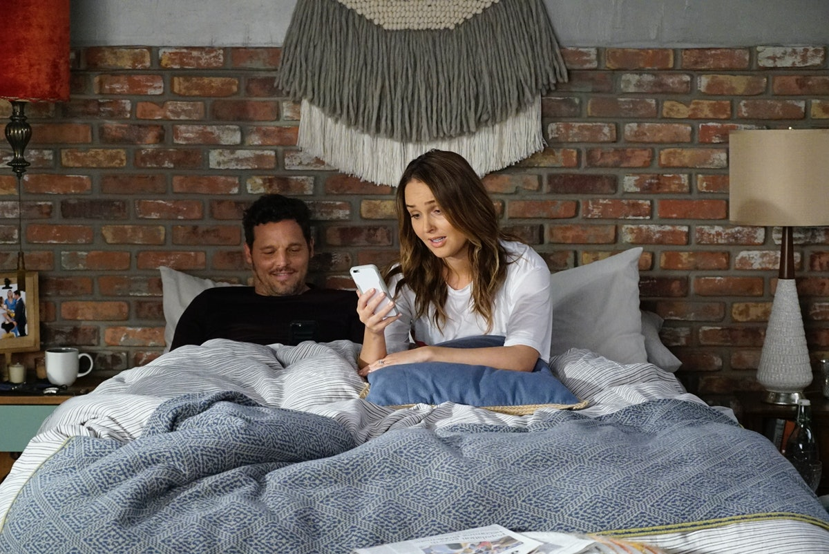 "JUSTIN CHAMBERS, CAMILLA LUDDINGTON in Grey's Anatomy Episode: #1604 ""It's Raining Men"""