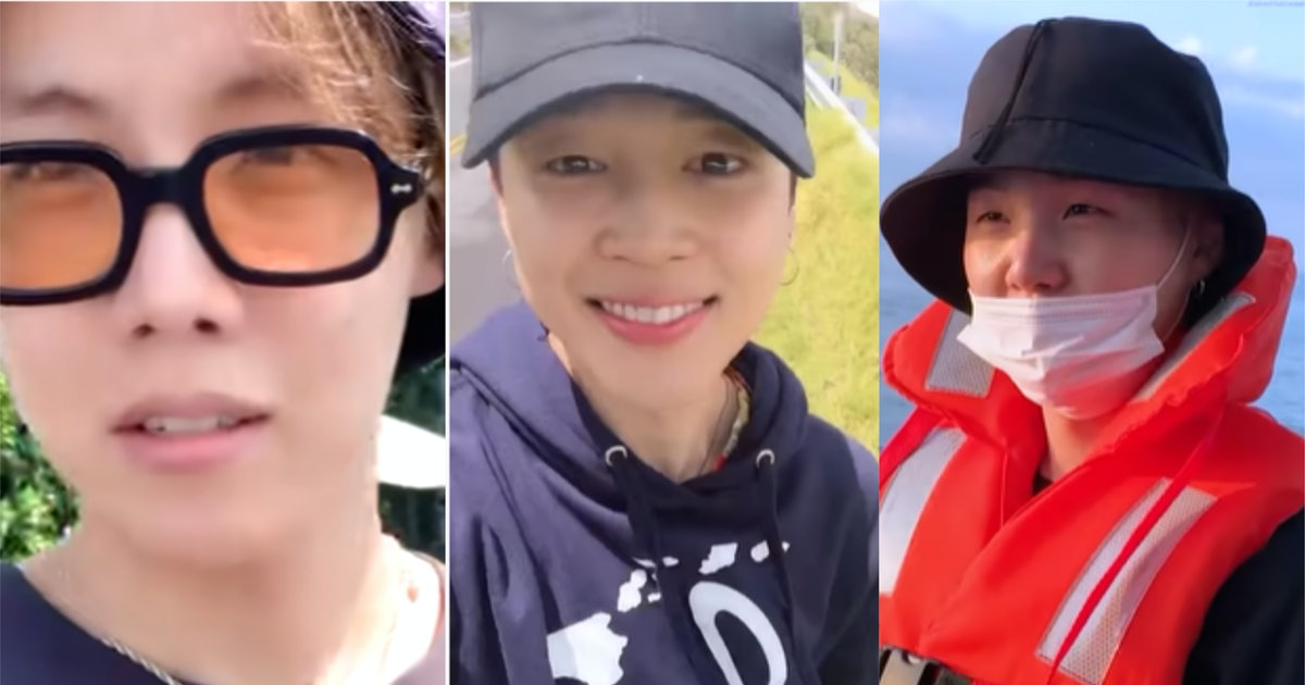 The 14 Best Moments From BTS' Vacation Videos Will Make You Smile