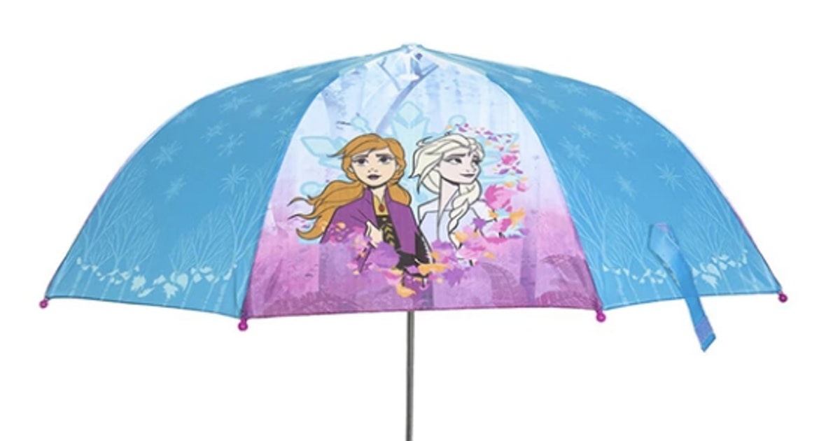 This 'Frozen 2' Rain Gear Set Will Have You Wishing For Cloudy Skies