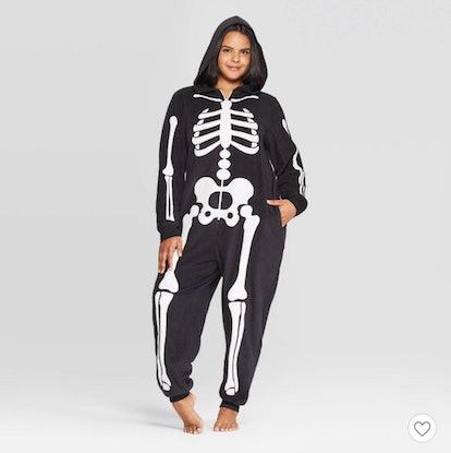 Women's Plus Size Skeleton Family Union Suit