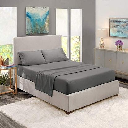 Nestl Bedding Soft Sheets 4-Piece Bed Set