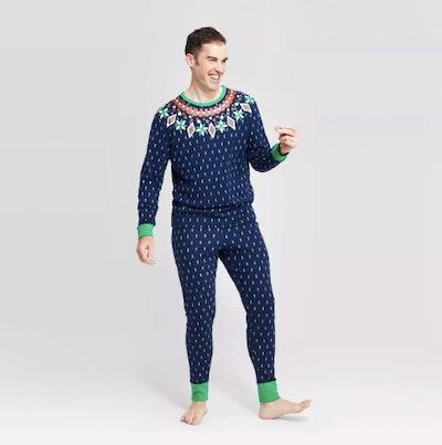 Target Holiday Fair Isle Pajama Set