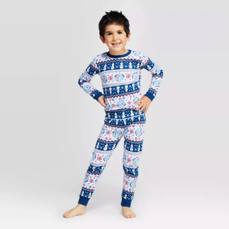 Target Frozen Holiday Olaf Fair Isle Pajama