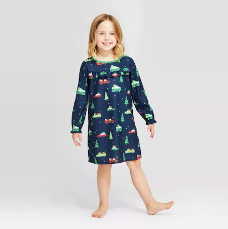 Target Holiday Car Flannel Nightgown