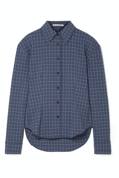 Sovilla Checked Oxford Shirt