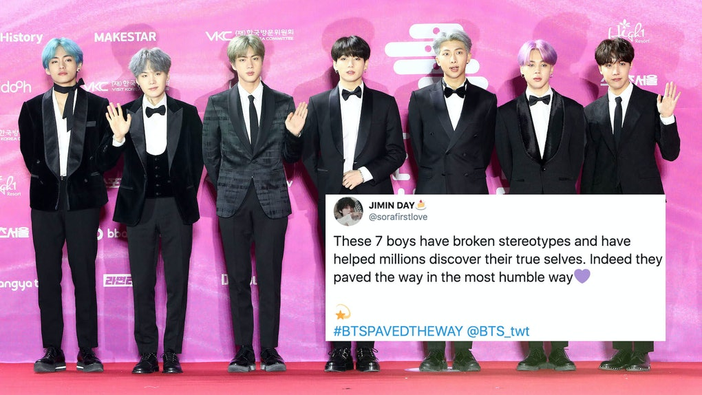 #BTSPavedTheWay tweets trended in honor of BTS' numerous accomplishments.