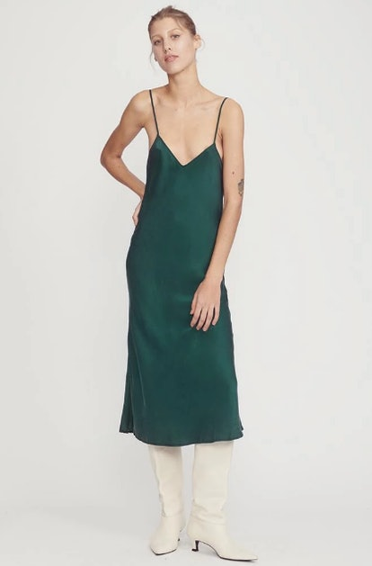 '90s Silk Slip Dress