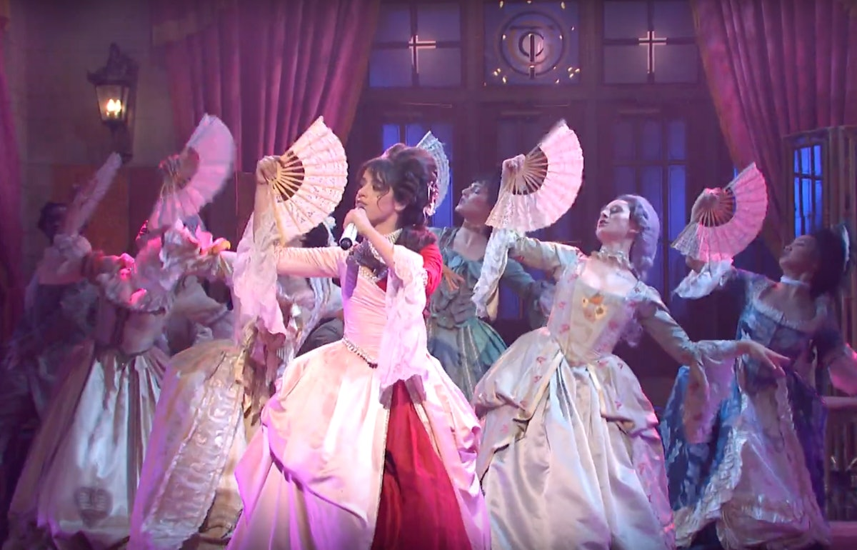 """The Video Of Camila Cabello's 'SNL' """"Cry For Me"""" Performance draws inspiration from the French Revolution."""