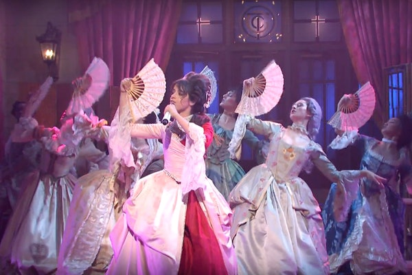 "The Video Of Camila Cabello's 'SNL' ""Cry For Me"" Performance draws inspiration from the French Revolution."