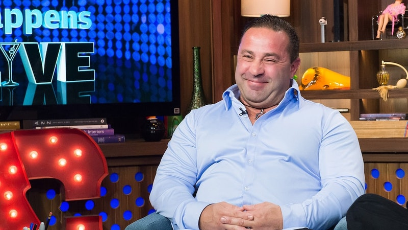 Joe Giudice's daughter shared the first photo of her father in three years.