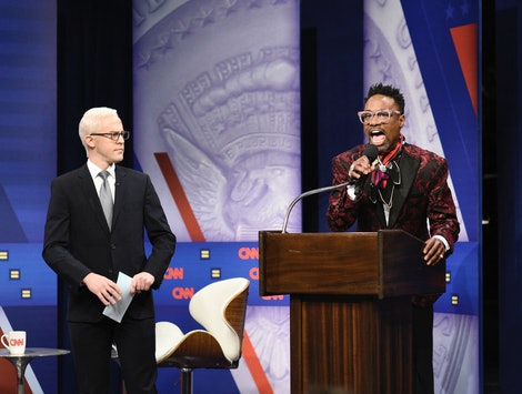 Billy Porter's Saturday Night Live cameo brought energy to the Equality Town Hall Sketch.