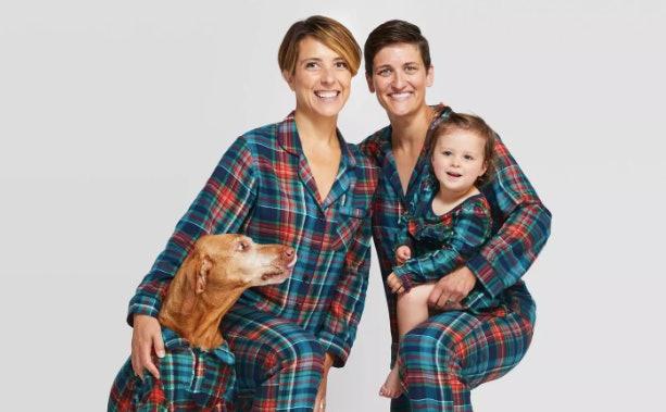Wondershop Women/'s Pajamas Green 2 Piece Flannel Pjs S  XL XXL Dog Holiday NEW