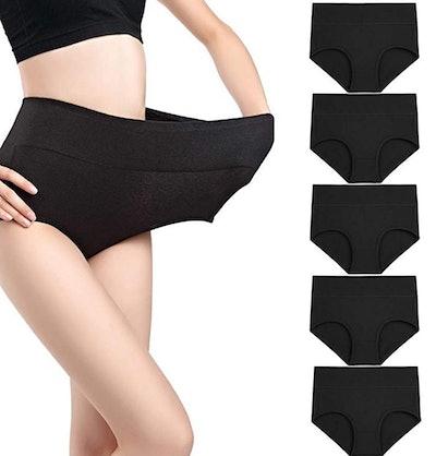 Wirarpa Women's Breathable Underwear (5-Pack)