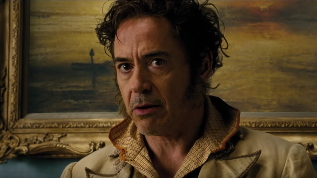 Robert Downey Jr. in the trailer for Dolittle