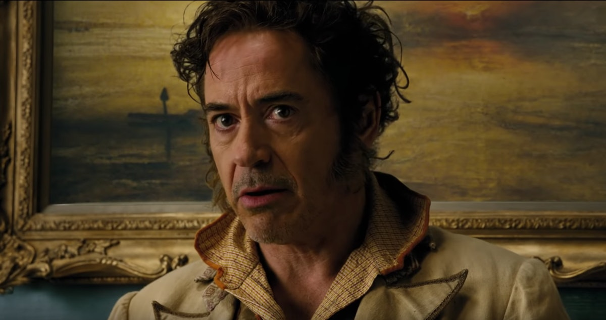 Robert Downey Jr. in the trailer for Dolittle