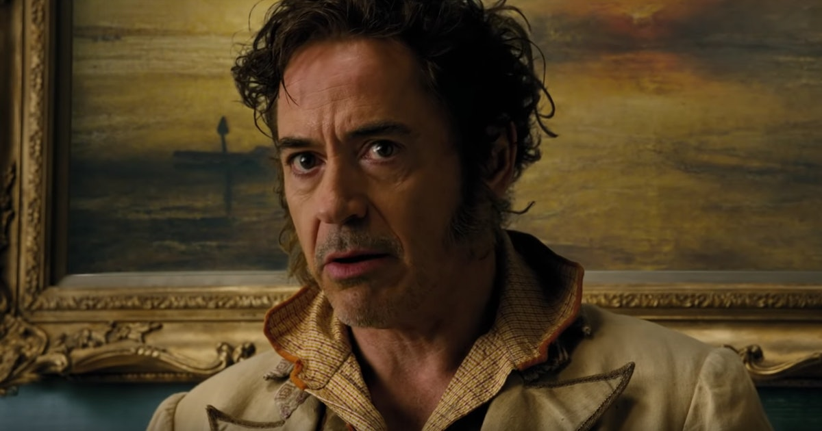 The First 'Dolittle' Trailer Shows Robert Downey Jr. Talking To Animals