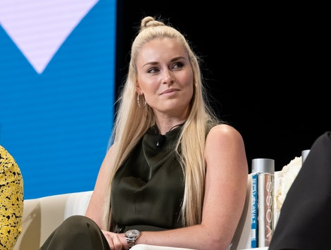 Lindsey Vonn at JPMorgan Chase's Women On The Move Leadership Day