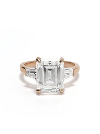 Grace Emerald-Cut Engagement Ring