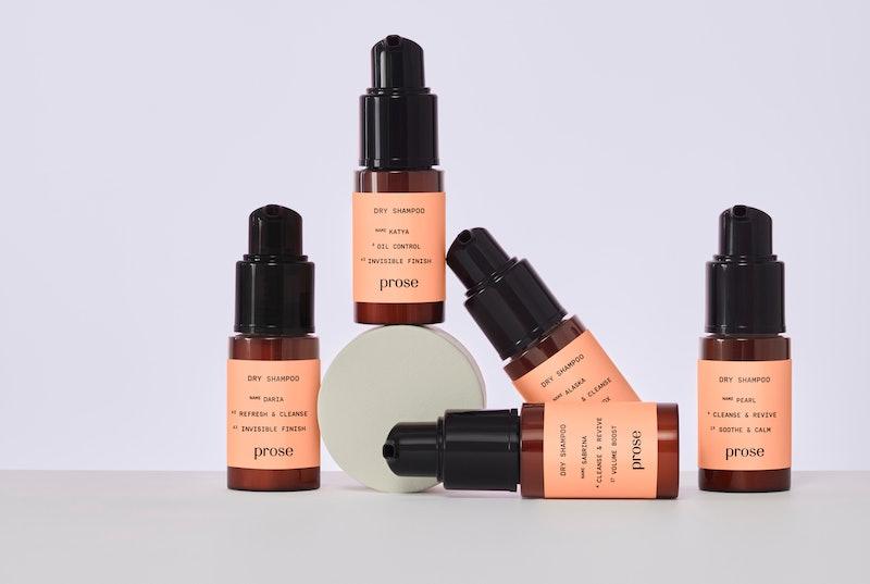 Prose's new Dry Shampoo in bottles