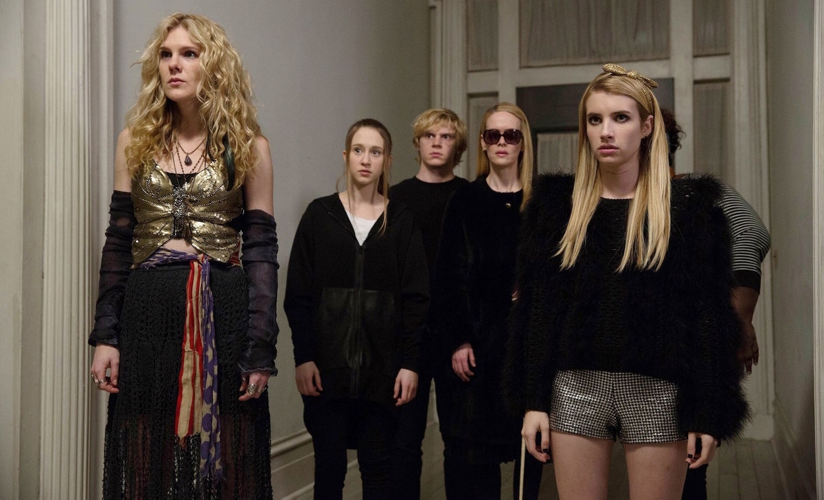 The cast of 'American Horror Story: Coven'