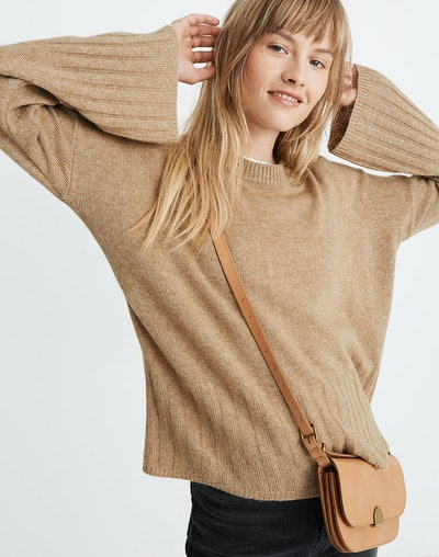 Ayres Wide-Sleeve Pullover Sweater