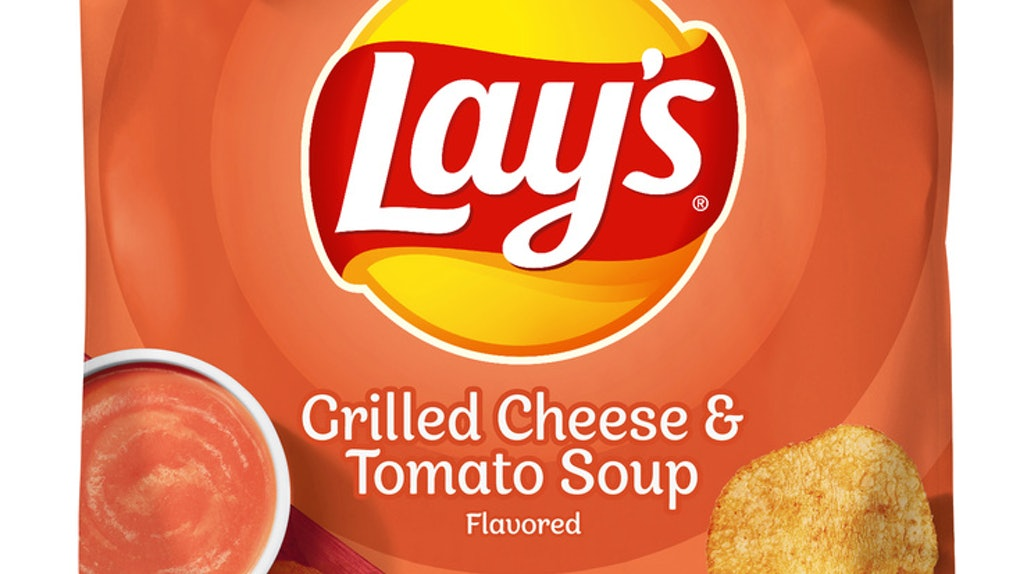 Lay's Grilled Cheese & Tomato Soup-flavored chips are a comfort food combo.