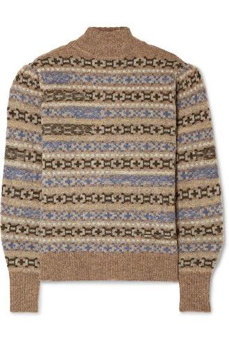 Ned Fair Isle Wool Sweater