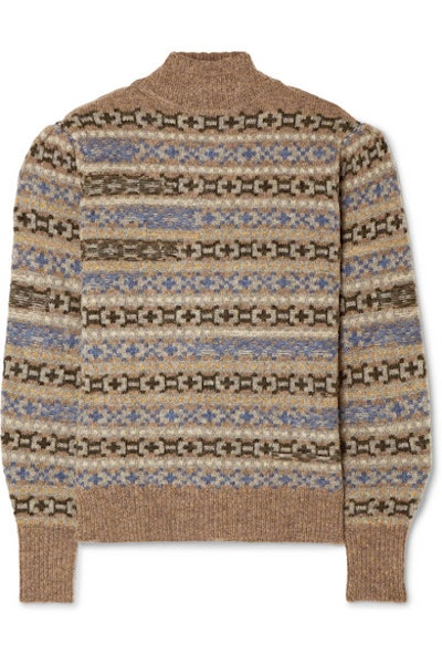 Ned Fair Isle Wool Sweater