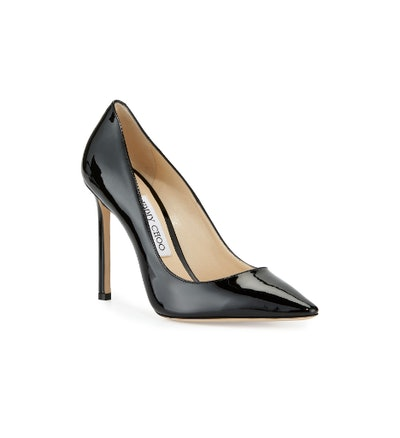 Romy 100mm Patent Leather Pump