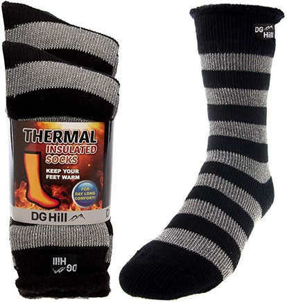 DG Hill Heat-Trapping Thermal Socks