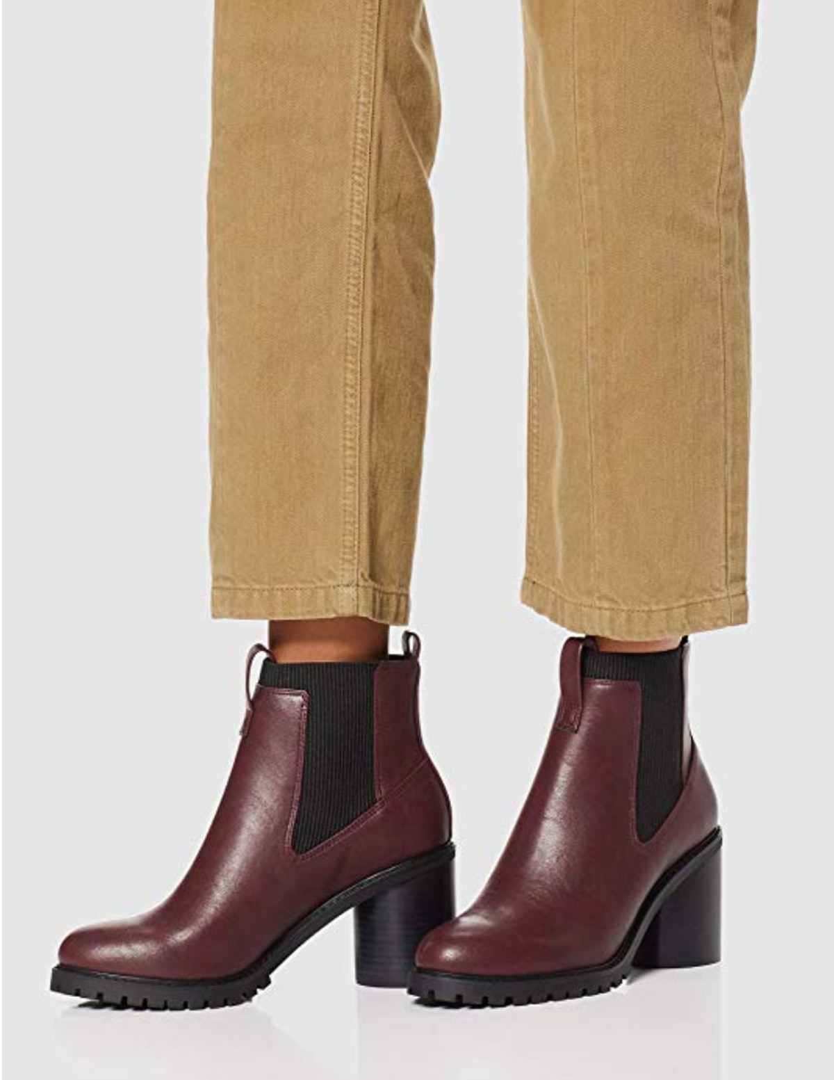 find. Chunky Sole, Women's Chelsea Heeled Boots