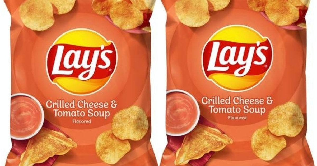 Grilled Cheese & Tomato Soup Chips From Lay's Are Hitting Shelves