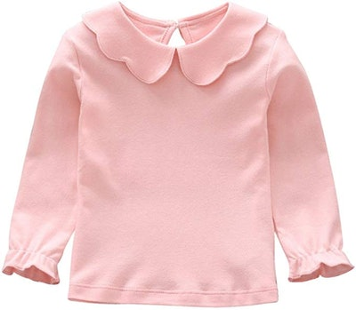 Weixinbuy Baby Girl's Blouse